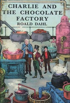 1967 | The Evolution Of Charlie And The Chocolate Factory Book Covers via @Random House Books