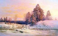 Winterscape Art