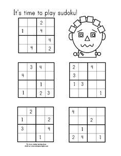 Children's activity and craft templates. Math 5, Fun Math, Math Games, Math Activities, Word Search Games, Math Challenge, Sudoku Puzzles, Numbers Preschool, Homeschool Math