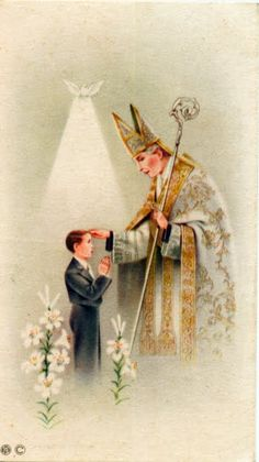 ...the sacrament of confirmation...