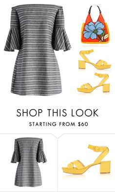 """""""Untitled #1099"""" by christawallace ❤ liked on Polyvore featuring Chicwish, Topshop and Marni"""