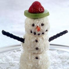 Ice Cream Snowmen Tutorial