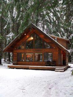 135 Rustic Log Cabin Homes Design Ideas