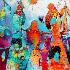 Heartful Musings: paintings Tracy Verdugo