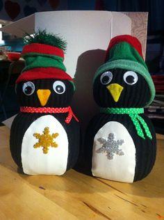 Sock Penguins