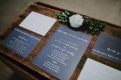 Minimalist Tribal Wedding Invitation Suite