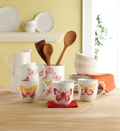 Use my glass paints and adhesive silkscreens to transform plain serve ware.