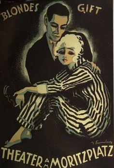 Josepf Fenneker - Blond Poison, 1920