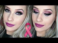 Maquiagem Outubro Rosa - YouTube