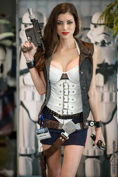 Lady Han Solo, Star Wars, by Leeanna Vamp, photo by Erik Estrada. #rule63