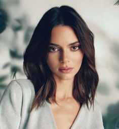 Kendall Jenner Icons, Kendall Jenner Makeup, Kendall Jenner Outfits, Jenner Sisters, Kardashian Jenner, Bob Hairstyles, Curly Hair Styles, Hair Beauty, Celebs