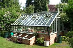 I want this greenhouse!  Greenhouse.....  VictorianGreenhouses.com