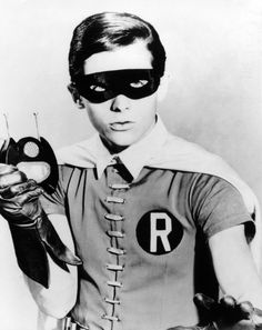 "Burt Ward as 'Robin the Boy Wonder"" in Batman (1966-68, ABC)"