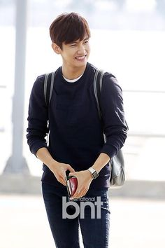 If you just leave the fact that this person has abs and is hot he's rather really adorable! ❤tvxq changmin