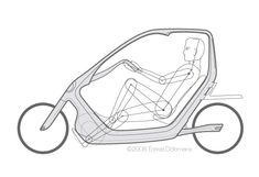 ThisWay - ©Torkel Dohmers Mobiles, Eletric Bike, Fixed Gear Bicycle, Bicycle Tools, Recumbent Bicycle, Bicycle Workout, Bicycle Women, Car Design Sketch, Pedal Cars