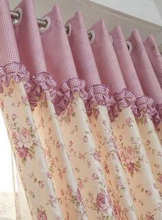 Glorious Make Rod Pocket Curtains Ideas. Enchanting Make Rod Pocket Curtains Ideas. Thick Curtains, No Sew Curtains, Home Curtains, Rod Pocket Curtains, Curtains With Blinds, Kitchen Curtains, Blackout Curtains, Window Curtains, Curtain Patterns