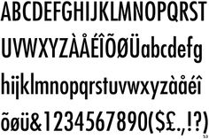 Futura Condensed by Paul Renner | #font #bold #download