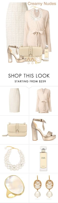 """Soft Colors & Soft Fabrics"" by shamrockclover ❤ liked on Polyvore featuring Alexander McQueen, Forte Forte, Valentino, Alexandre Birman, Dominique Denaive, Ralph Lauren, Marco Bicego and Brigid Blanco"