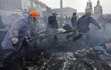 New deadly clashes in Ukraine as truce falls apart - CBS News, February 20, 2014
