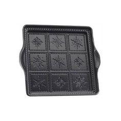 "Nordicware Seasonal 9"" Snowflake Shortbread Pan - 03148"