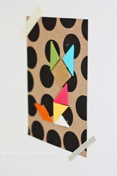 Happy Together: Geometric Fox DIY