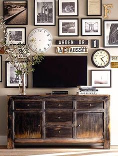 Home and Delicious: camouflage the tv