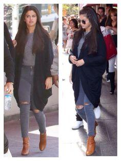 Selena Gomez - casual street style - September 2014