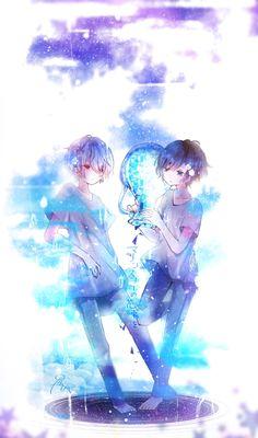 A Bouquet of Marine Snow Gato Anime, Chica Anime Manga, Otaku Anime, Cool Anime Guys, Cute Anime Boy, Anime Child, Anime Art Girl, Kawaii Anime, Chibi