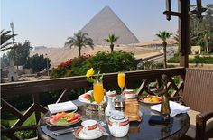 This amazing view is so suitable to have Breakfast there with a beautiful girl :D