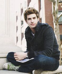 Andrew Garfield, why are you so beautiful?