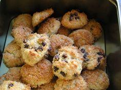 Recette Dessert : Rochers coco léger nature et pépites de chocolat par FaBzh