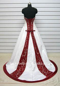 two tone wedding dress - Google Search