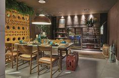 Cozinha da Casa por Didacio Duailibe em Casa Cor Brasília 2015
