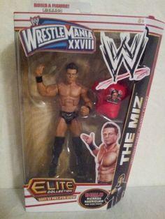 Mattel WWE Wrestling Exclusive Elite Best of Pay Per View Action Figure The Miz [Ricardo Rodriguez Build-a-Figure] by Mattel Toys, http://www.amazon.com/dp/B009M73PPE/ref=cm_sw_r_pi_dp_FUH.qb0TMJH1P