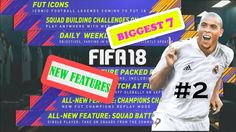 New Feature 2 Fifa 18 SBC on Everywhere MiSSED with NEW Mechanic and Easy Squad Building Challenges BEST 7 NEW FEATURES New Feature 1 Fifa 18 ALL NEW Icons Possibly Missed Revealed Stories PELE MARADONA RONALDO Trailer https://youtu.be/PLPf3sGzYm0 New Feature 2 Fifa 18 SBCs on WEBAPP too with NEW Mechanic and Easy Squad Building Challenges https://youtu.be/aNL7uAjqVao New Feature 3 Fifa 18 OBJECTIVES are now DAILY and WEEKLY with Gift of FUT PACKS Fifa Ultimate Team New Feature 4 Fifa 18 On…