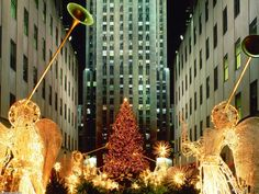 New York City at Christmas time!  It's on my bucket list.