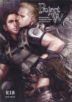 This is a wonderful Resident Evil Wesker x Chris Hard Yaoi Doujinshi. It's a great anthology that was very hard to get hold of but I need to clear some space now. It has art from lots of different peo Albert Wesker, Resident Evil Game, Fujoshi, Anime, Lust, Tank Man, Doujinshi, Otp, Spicy