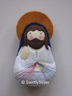 Barmherzigkeit Jesus fühlte sich Saint-Softie von SaintlySilver