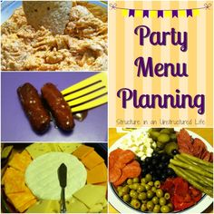 Party Menu Planning