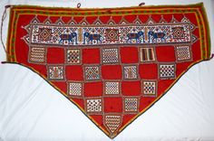 Antique Indian Beadwork Embellished Textile