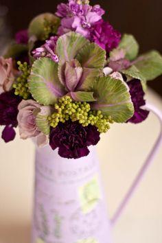 lovely arrangement @catherine gruntman Creppon