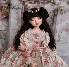 Купить Кукла будуарная Жасмин Кукла ручной работы Кукла из пластика Принцесса в интернет магазине на Ярмарке Мастеров