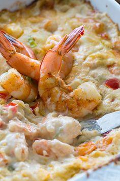 Baked Spicy Shrimp Dip