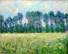 Claude Monet Prairie à Giverny, x 32 in x cm). Estimate This lot is offered in the Impressionist and Modern Art Evening Sale on 27 February 2018 at Christie's in London Claude Monet, Impressionism Art, Impressionist Paintings, Impressionist Landscape, Monet Paintings, Landscape Paintings, Renoir, Artist Monet, Art Japonais