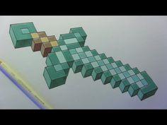 Minecraft Sword ✿ ✿