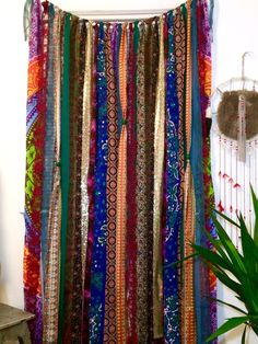 Hippie Curtains Boho Curtain Junk Gypsy Teen By ChangesByNeci