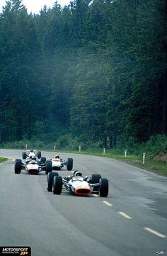 9 June 1968: Belgian Grand Prix: Spa-Francorchamps: : #11 Pedro Rodriguez (BRM P133)