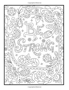 Amazon Inspirational Quotes An Adult Coloring Book With Motivational Sayings Positive AffirmationsPrintable ColoringColoring SheetsAdult