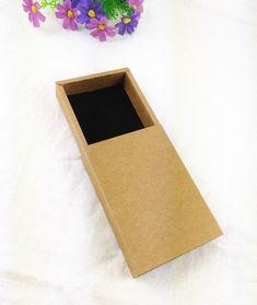 Cheap Contenitore di regalo al minuto kraft cassetto box banca regalo di imballaggio di cartone 24 pz scatola con trasporto di alta qualità velluto nero, Compro Qualità Gioielli packaging & display direttamente da fornitori della Cina:       Materiale: 350g carta kraft          Dimensione esterno:    11.5 × 8.0 × 2.2 cm              Insde for