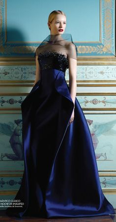 cb354fb75a Cobalt and Royale Blue Wardrobe Wishes  Would be much better without the  sheer thing standing